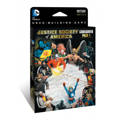 DC Comics: Deck-Building Game - Crossover Expansion Pack 1: JSA