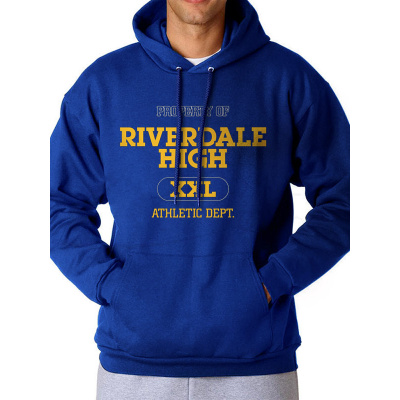 Riverdale - Varsity Logo - Hooded Sweatshirt - Blue