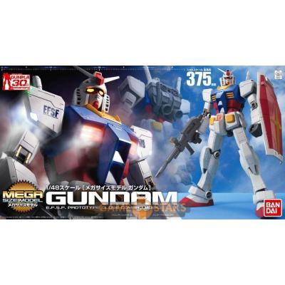Gundam: Mega Size - RX-78-2 Gundam 1:48 Scale Model Kit