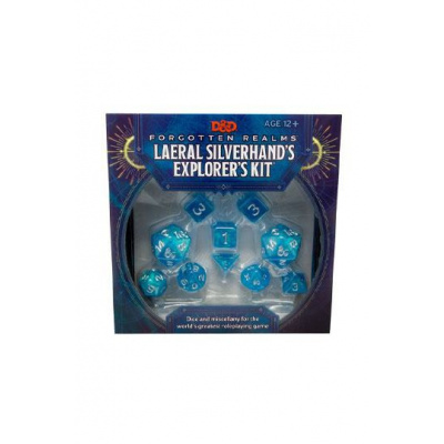 Dungeons & Dragons Forgotten Realms : Laeral Silverhand's Explorer Kit - Dice & Miscellany ANGLAIS
