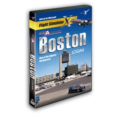 Mega Airport Boston Logan (FS X Add-On) PC