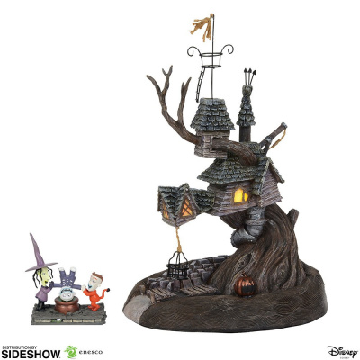 The Nightmare Before Christmas: Lock Shock Barrel Treehouse Figurine