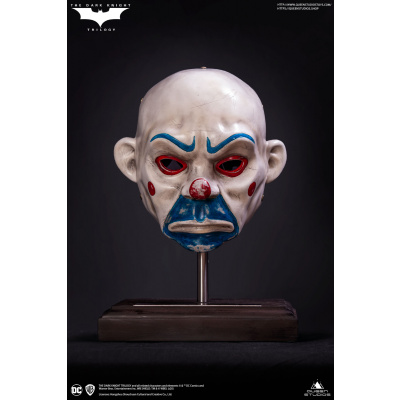 DC Comics: The Dark Knight - Joker Clown Mask 1:1 Scale Prop Replica