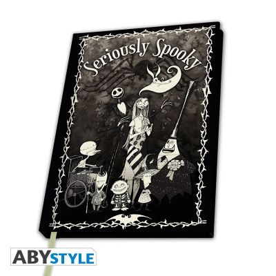Nightmare before Christmas - A5 Notebook Seriously Spooky