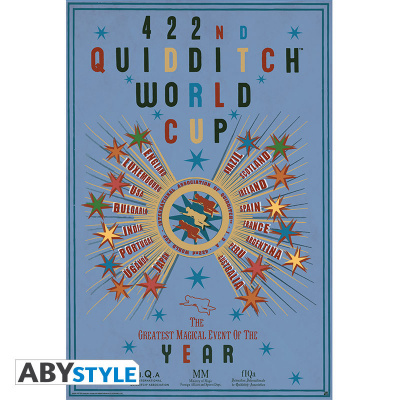 HARRY POTTER - Poster « Quidditch World Cup » (91.5x61)*