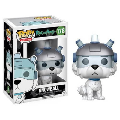 Rick and Morty Snowball Funko Pop