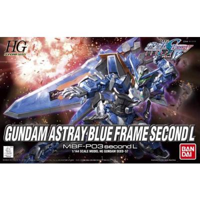 GUNDAM - MODEL KIT - HG 1/144 - ASTRAY BLUE FRAME SECOND L - 13CM