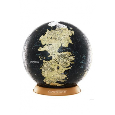 GAME OF THRONES - 3D Puzzle - GLOBE - 9 Inches / 22cm / 540 pcs