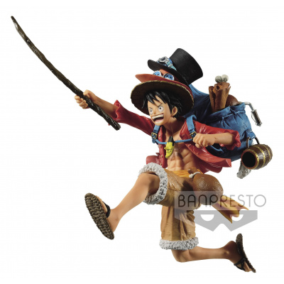 One Piece: Three Brothers Figure A - Monkey D. Luffy