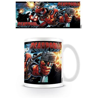 Deadpool Shooting With Style - Mug