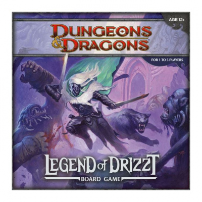 Dungeons & Dragons The Legend of Drizzt board game * ENGLISH *