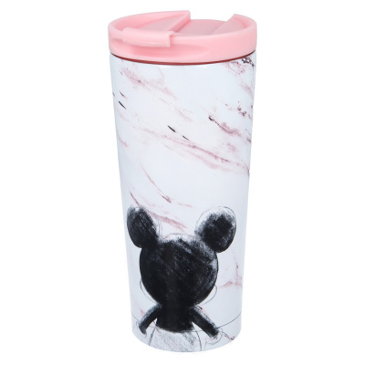 INSULATED STAINLESS STEEL COFFEE TUMBLER 425 ML MICKEY