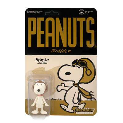 Peanuts Wave 2: Snoopy Flying Ace 3.75 inch ReAction Figure