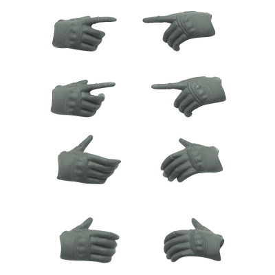 LittleArmory: OP5 - Figma Tactical Gloves Mas Grey