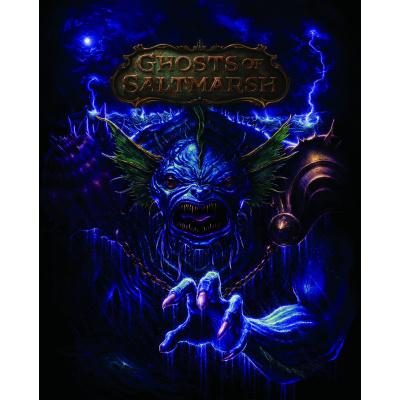 DUNGEONS & DRAGONS 5TH EDITION RPG: GHOSTS OF SALTMARSH ADVENTURE MODULE - ALTERNATE COVER