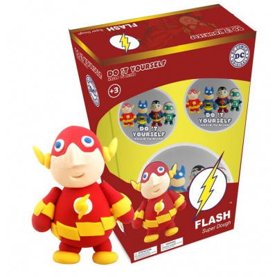 DC Comics: The Flash Super Dough Characters - Do It Yourself