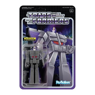 Transformers: Astrotrain 3.75 inch ReAction Figure