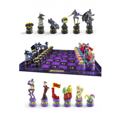 DC Comics: Batman - Dark Knight vs Joker Chess Set