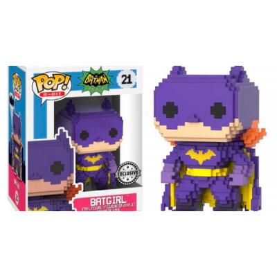 DC Comics Classic Batgirl Exclusive 8-Bit POP! Vinyl