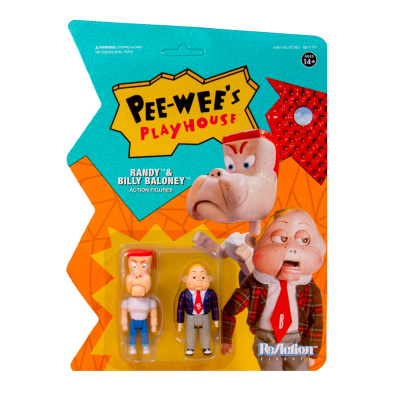 Pee-Wee's Playhouse: Randy and Billy Baloney 3.75 inch ReAction Figure