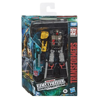 Transformers Generation Wfc E Deluxe Ironworks