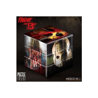 Friday the 13th Puzzle Blox Puzzle Cube Jason Voorhees