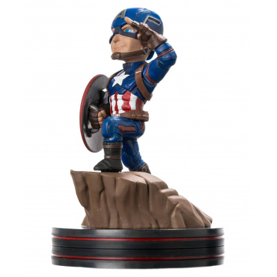 Marvel Comics Q-Fig Figure Captain America Civil War