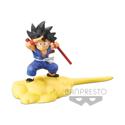 Dragon Ball: Goku on Flying Nimbus Special Color Version
