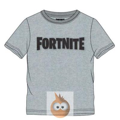 Fortnite Logo Grey - Kids T-Shirt (140cm/10y)
