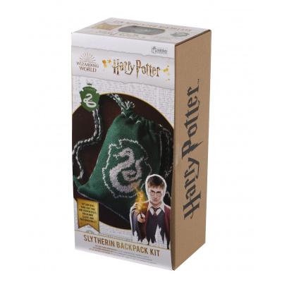 Harry Potter: Slytherin Drawstring Bag Knit Kit