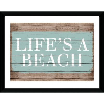 Tropical: Life's a Beach Collector Print