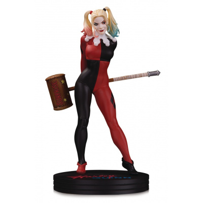 DC Comics: Cover Girls - Harley Quinn Statue by Frank Cho