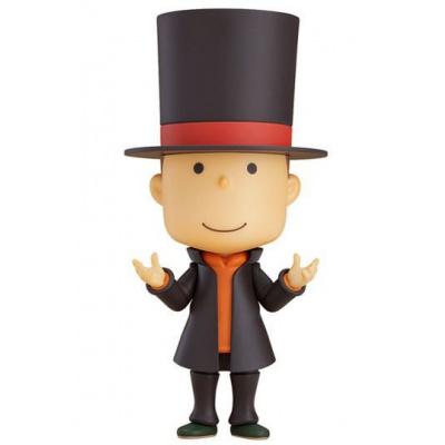 Layton Mystery Detective Agency Kat's Mystery Solving Files figurine Nendoroid Professor Layton