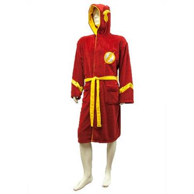 DC Comics: Justice League The Flash Outfit Bath Robe