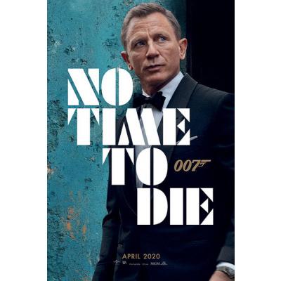 James Bond: No Time to Die - Azure Teaser 61 x 92 cm Poster