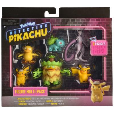 Pokemon Movie: Detective Pikachu Battle Figure 6-Pack