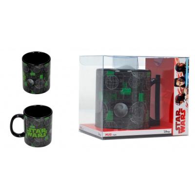 Star Wars The Last Jedi: Death Star Black Mug
