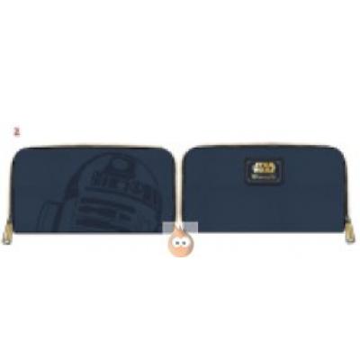 Loungefly R2D2 Zip Wallet Debossed (Star Wars)
