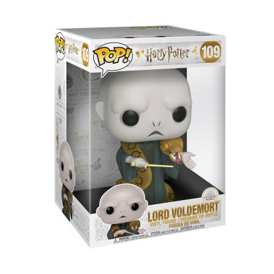Pop! Harry Potter: 10 inch Voldemort with Nagini