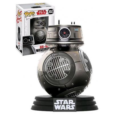 Pop Vinyl Star Wars Resistance BB 9E Unit Chrome Exclusive 202