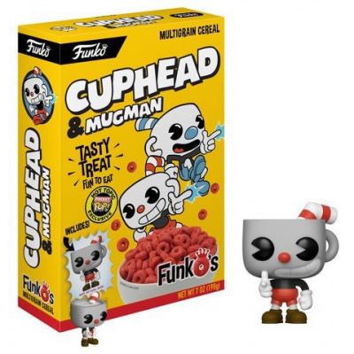 FunkO's Cuphead Exclusive 7 Oz. Breakfast Cereal [Yellow Box, Cuphead & Mugman]
