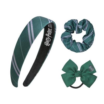 Harry Potter: Slytherin Classic Headband Scrunchy Bow Set