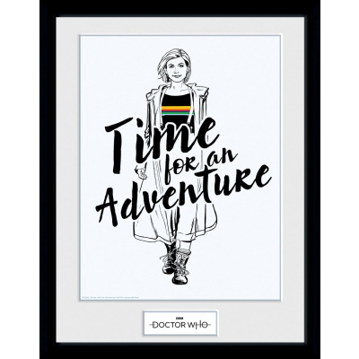 Doctor Who: Time for an Adventure Collector Print