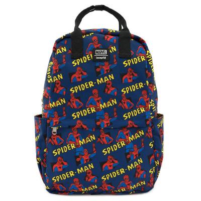 Marvel: Spiderman - All Over Print Square Nylon Backpack