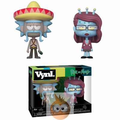 VYNL: Rick & Morty - Rick w/ Sombrero & Unity