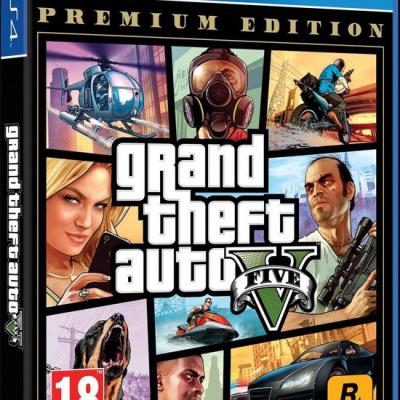 Grand Theft Auto 5 (GTA V) - Premium Edition (PS4)
