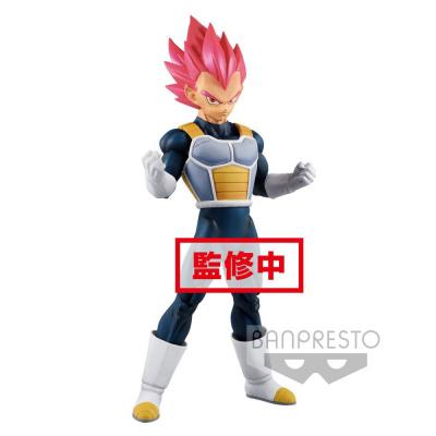 Dragon Ball Super Cyokuku Buyuden PVC Statue Super Saiyan God Vegeta 22 cm