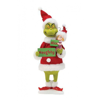 How the Grinch Stole Christmas: Grinch (Naughty or Nice) - Statue