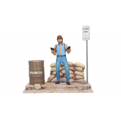 Invasion USA: Matt Hunter (Chuck Norris) 18 cm PVC Statue