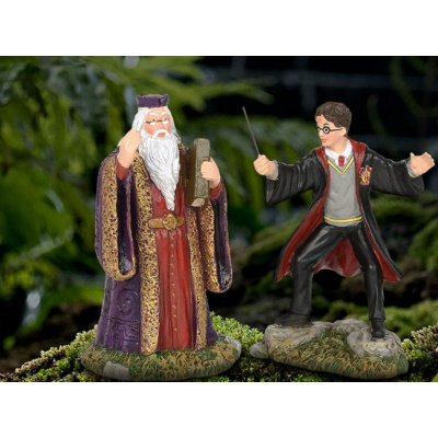 Harry Potter: Harry and The Headmaster Figurine